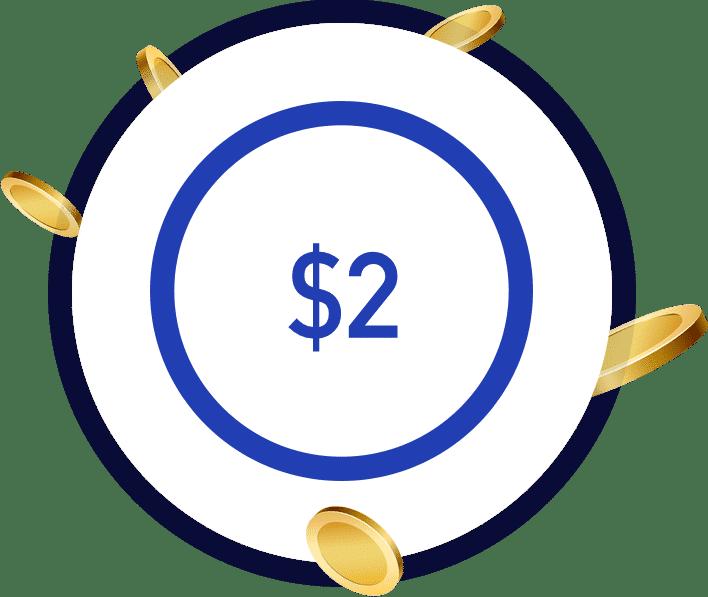 NZ$2 deposit casino